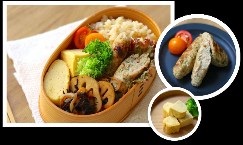 お弁当も、全て自家製で作れるようになろう